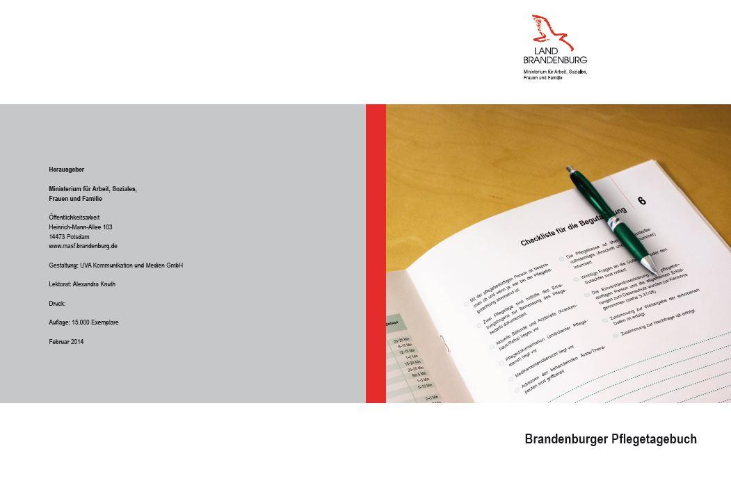 Brandenburger Pflegetagebuch